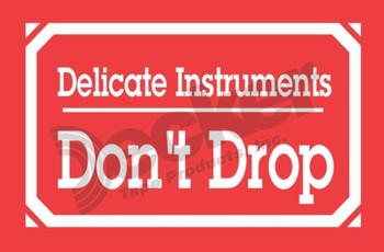 DL1350 Delicate Instruments Labels
