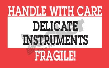DL1460 Delicate Instruments Labels
