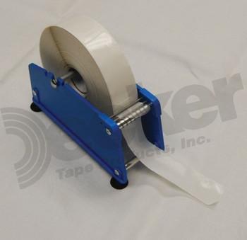 """2-1//2/"""" D2-15 Deluxe Metal Hand-Held Filament Tape Dispenser"""
