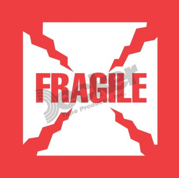 DL1010 Fragile Labels
