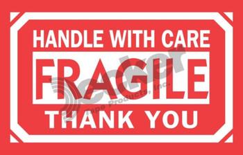 DL1260 Fragile Labels