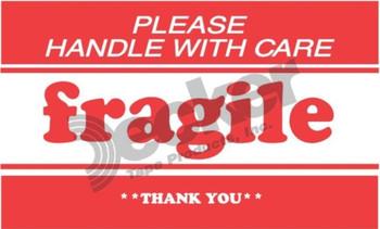 DL1271 Fragile Labels