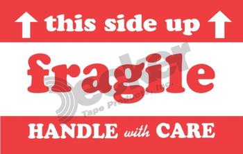 DL1530 Fragile Labels