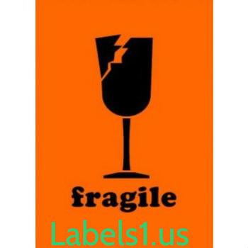 DL1561 Fragile Labels