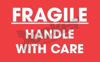 DL1768 Fragile Labels