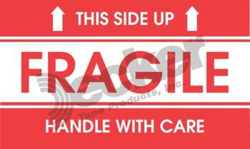 DL1521 Fragile Labels