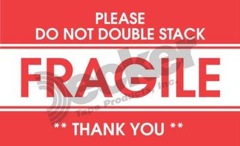 DL1522 Fragile Labels