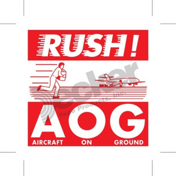 DL1741 Hot Rush Labels