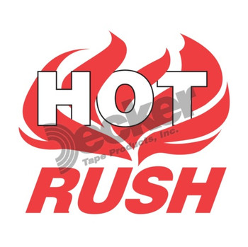 DL3193 Hot Rush Labels