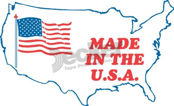 DL1650 Made In USA Labels