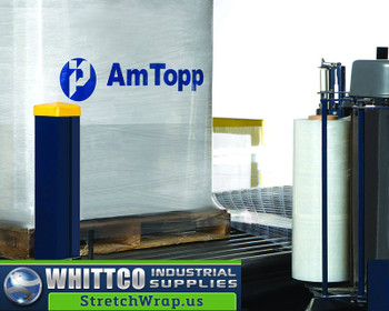 "EP Series AmTopp Wrap ""EP"" Series is a high quality linear low-density polyethylene stretch wrap. With cling on both sides, this three-layer, cast, co-extruded film is an excellent film for use on conventional machinery on all load types, and in hot or cold environments. Engineered for all general-purpose applications, it will perform very consistently on pre-stretch equipment. It is also very suitable for use in stretch bundling applications.    Features • High tensile strength and elongation • Excellent puncture and tear resistance • Excellent holding force • Suitable for a wide range of applications"