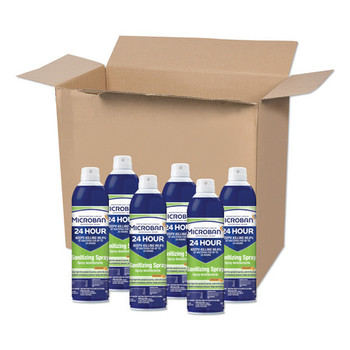 Microban Disinfectant Sanitizing Spray 30130