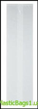 G25 Clear Light Weight Utility Bags 5.5x3x13 RD Plastics