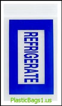 Q19 Blue Refrigerate 4x6 RD Plastics