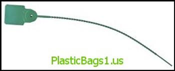R20 Pull Tight Security Seals Light Duty green(plain) RD Plastics