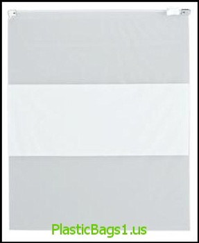 S81 White Block Slider Reclosable Bags 8x10 RD Plastics