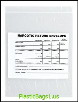 Q145 Narcotic Return 6.5x8 RD Plastics