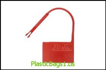 R70 Padlock Security Seals red(plain) RD Plastics
