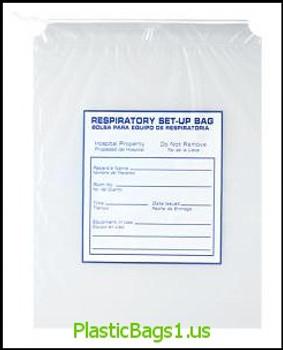 G113 Respiratory Care Bags 12x15 RD Plastics