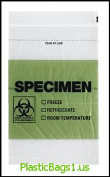 Q768 GREEN Color Block Biohazard Printed English Spanish Tear-Away Top 3 Wall 6x9 RD Plastics