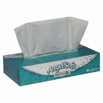 Angel Soft 	617368 by GP PRO Professional Series 2-Ply Facial Tissue, 100 Sheets Per Box, Case Of 30 Boxes