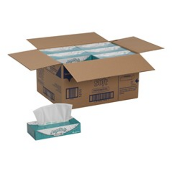 GPC48580 Angel Soft by GP PRO Professional Series 2-Ply Facial Tissue, 100 Sheets Per Box, Case Of 30 Boxes