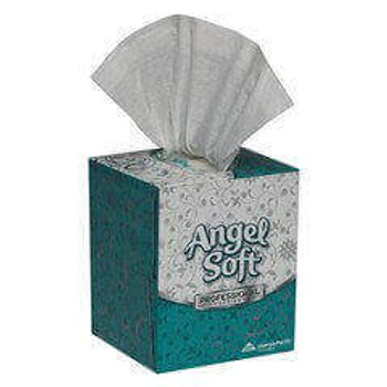 Angel Soft by GP PRO Professional Series 2-Ply Facial Tissue, 96 Sheets Per Box, Case Of 36 Boxes