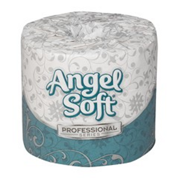 Angel Soft Professional Series by GP PRO Premium 2-Ply Embossed Toilet Paper, 16840, 450 Sheets Per Roll, 40 Rolls Per Case