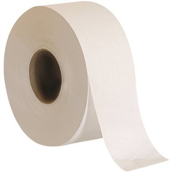 "Envision Jumbo Jr. 2-Ply Bathroom Tissue Rolls, 3 1/2"" x 1,000', 100% Recycled, White, Pack Of 8"