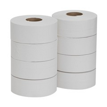 Georgia-Pacific JRT 2-Ply Bathroom Tissue, 1000' Roll, Case Of 8 Rolls