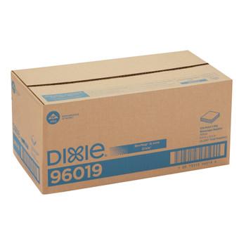 GP PRO Dixie 1/4-Fold 1-Ply Beverage Napkin, White