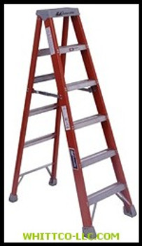 4' FIBERGLASS ADVENT STEP LADDER|FS1504|443-FS1504|WHITCO Industiral Supplies