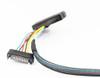 50CM 24G Slim Line SAS 4.0 SFF-8654 4i 38pin to U2 SFF-8639 100 Ohm Cable