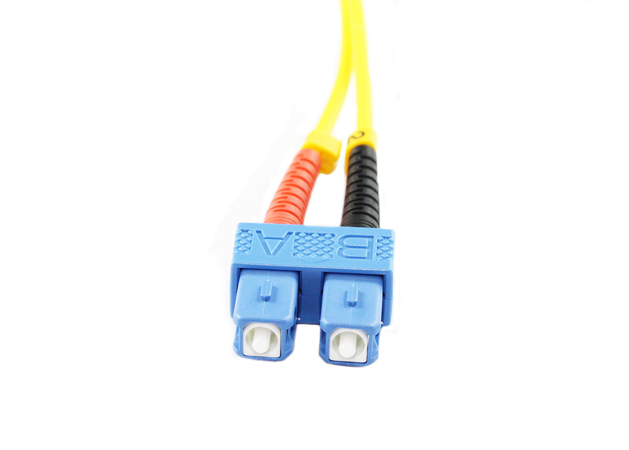 1.5M LC-SC OS1/OS2 9/125 Singlemode Duplex Fibre Patch Cable