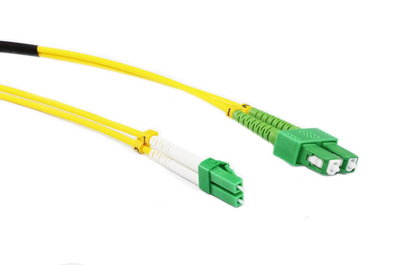 30M OS1/OS2 Singlemode Duplex LCA-SCA Fibre Optic Cable