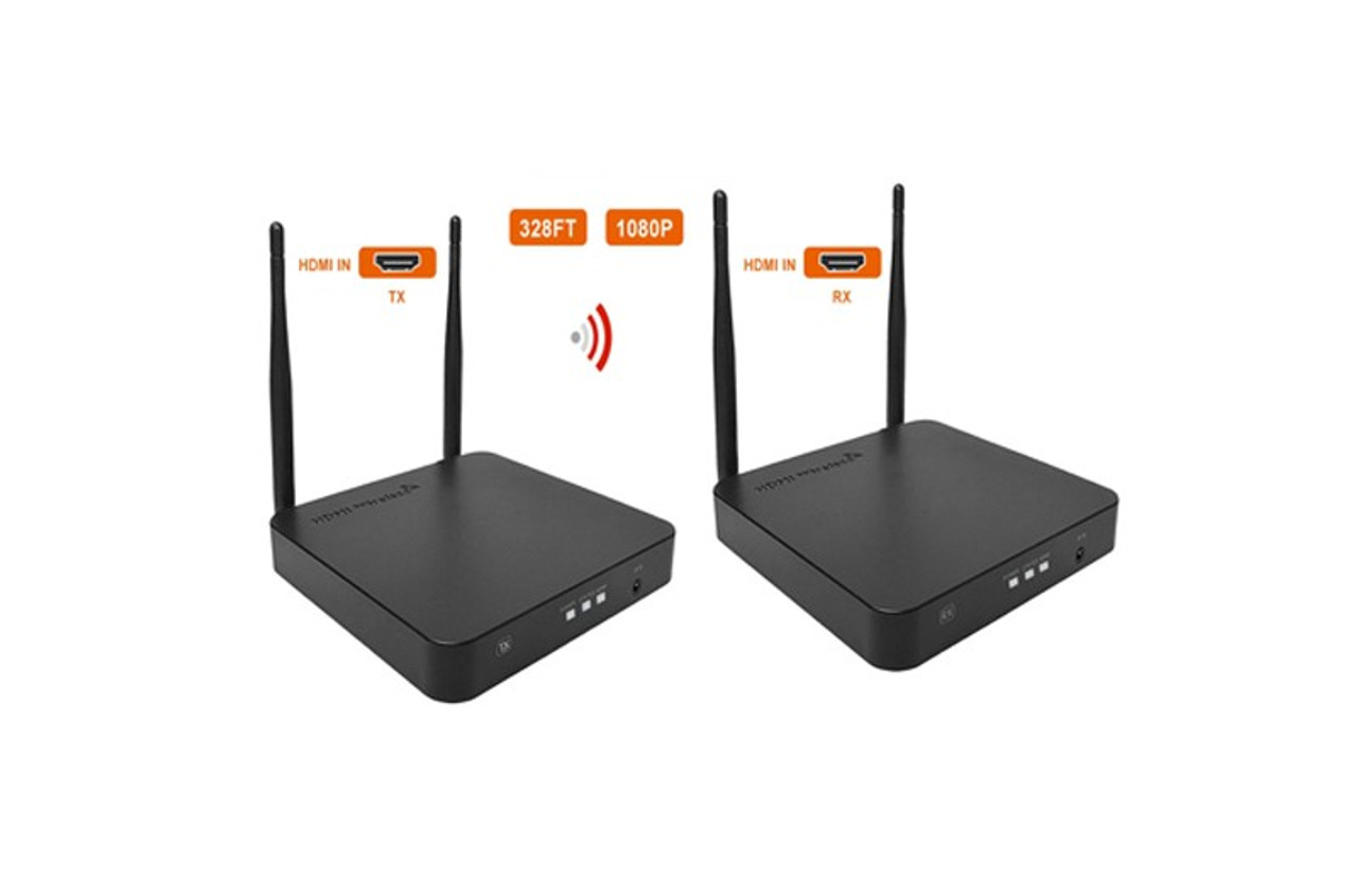 Wireless HDMI extender 100m Supports 1080P 60Hz