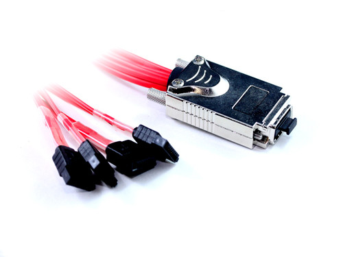 50CM Infiniband To 4XSATA Cable