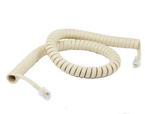 3M Coiled Handset Cord