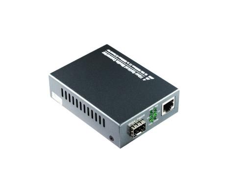 10/100/1000M Multimode Media Converter With SFP Port