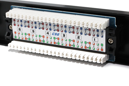 12 Port CAT5E Patch Panel ( UL-Listed )