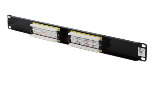 12 Port CAT6 Patch Panel ( UL Listed )
