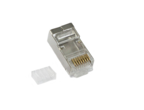 Plugmaster CAT6 8P8C Shielded Plug ( 2 Piece )