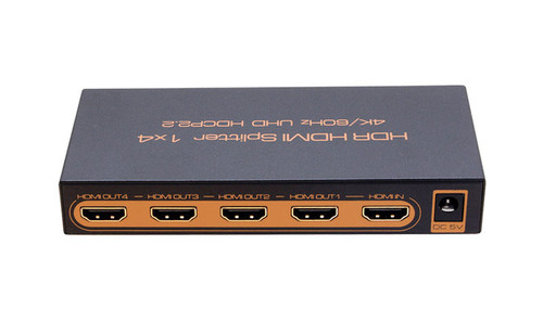 4 Port HDMI 2.0 HDR 4Kx2K 60Hz Splitter