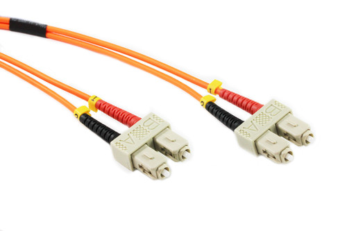 0.5M SC-SC OM1 62.5/125 Multimode Duplex Fibre Patch Cable