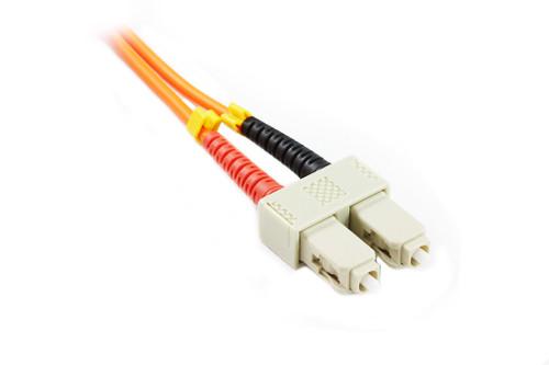 1M SC-ST OM1 62.5/125 Multimode Duplex Fibre Patch Cable