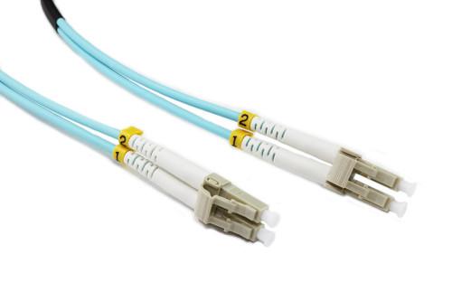 15M LC-LC OM3 50/125 Multimode Duplex Fibre Patch Cable