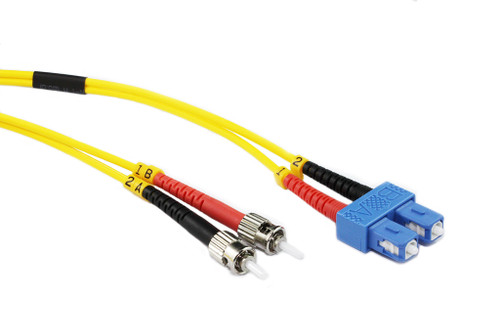 10M SC-ST OS1/OS2 9/125 Singlemode Duplex Fibre Patch Cable