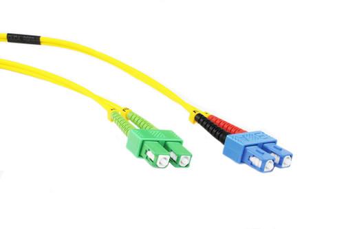 15M OS1 Singlemode SC-SCA Fibre Optic Cable
