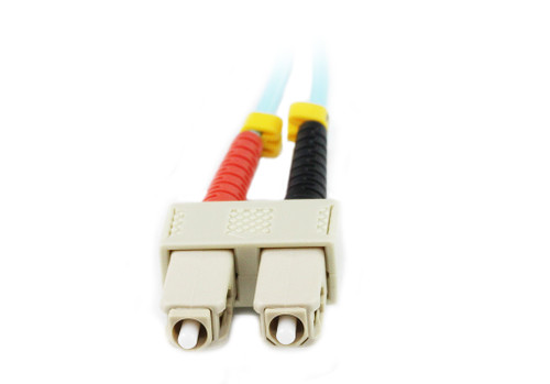 2M LC-SC OM4 50/125 Multimode Duplex Fibre Patch Cable