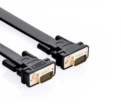 3M Flat SVGA Cable HD15 M/M